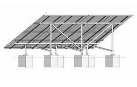 国家能源集团新型光伏支架助力复杂地形电站建设