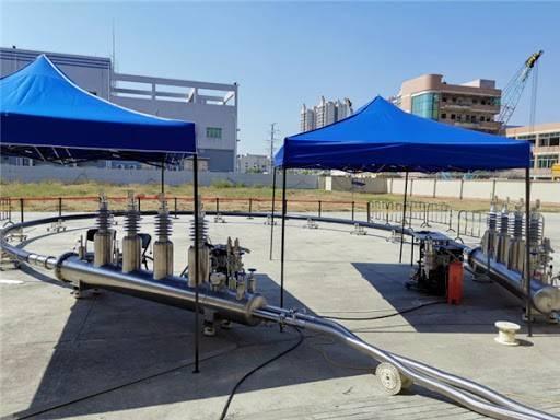 国内首条三相同轴10千伏高温超导电缆型式试验成功