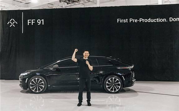 FF汽车拟融资10亿美元借壳上市,计划五年内销售超过40万辆