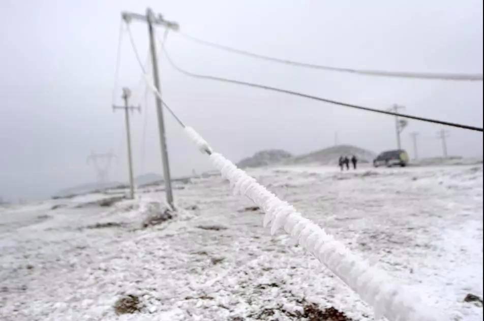 中南部地区多个风场出现叶片结冰现象,叶片结冰对机组有何危害?