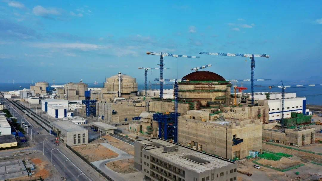 """中国能建参与设计建设""""华龙一号""""全球首堆——福清核电站5号机组投入商运"""