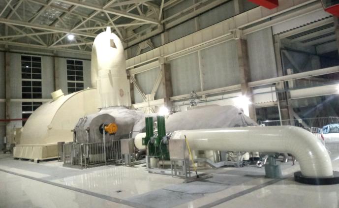 哈电集团国内首台650MW9H燃气蒸汽联合循环热电机组一次通过168小时试运行