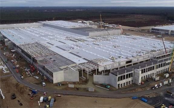 德国将补贴特斯拉柏林工厂电池生产,至少10亿欧元