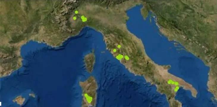 意大利公布一份可能建造放射性废物贮存设施的地点清单