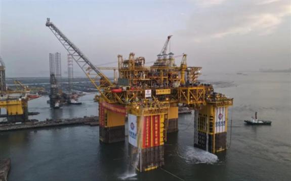 中海油装备制造水平跃上新台阶!技术全面提升!