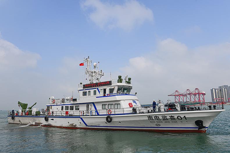 探访国内首艘500千伏海底电缆运维船