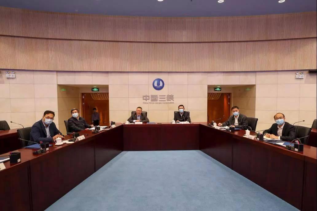 """三峡集团与吉林省人民政府以""""云签约""""方式签署合作框架协议"""