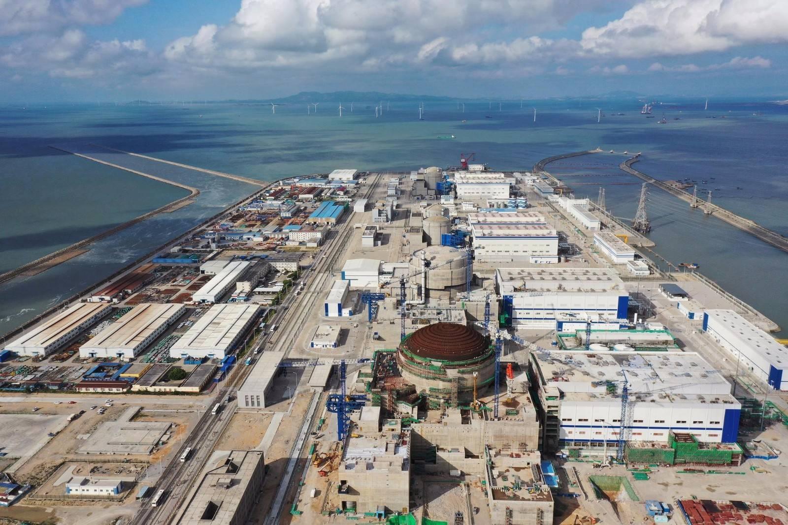 大陆核电发电量已超法国,居世界第二