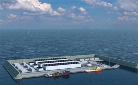 丹麦筹划将在北海建造世界上第一个人工风能中心