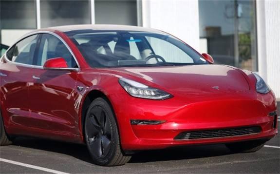 特斯拉Model 3在全球电动汽车市场占有率达12%
