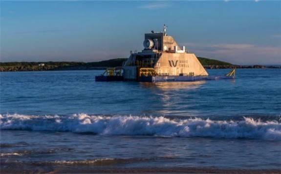Wave Swell Energy的200千瓦波浪发电机组即将并入当地电网