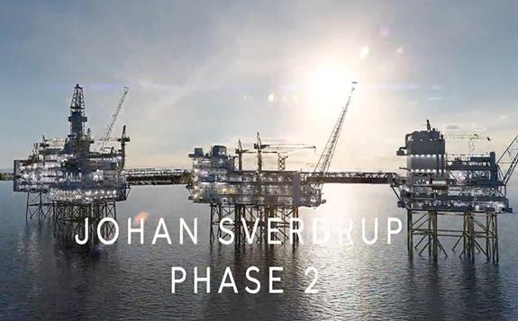 巨型海上油田Johan Sverdrup二期开发项目