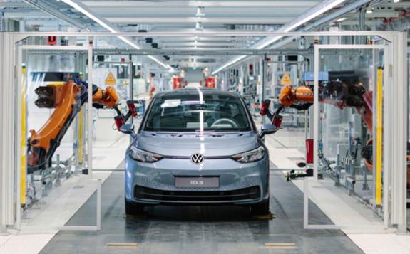 欧盟2020年电动车销量占比首次突破10%