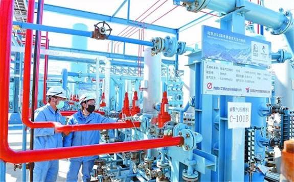 中国石化燕山石化所产电池氢气已逐步实现量产!