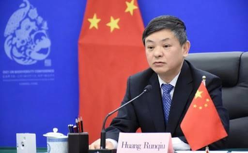 生态环境部部长黄润秋视频出席第五届联合国环境大会