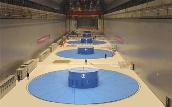 """乌东德水电站已投产的八台机组均成功实现""""首稳百日""""目标!"""