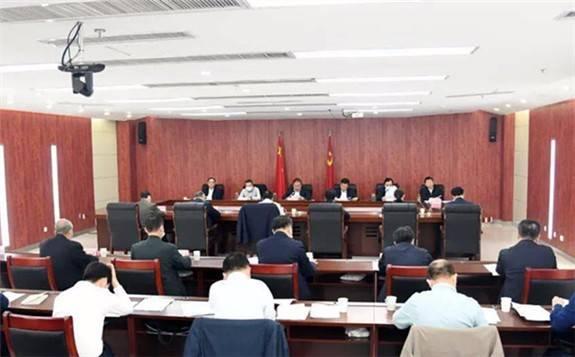 """陕西省推进""""一带一路""""建设工作领导小组会议在西安召开"""