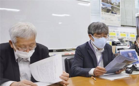 日本福岛受害者反对将核处理水排入海中
