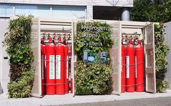 """日本松下开发了大型公共设施使用的""""纯氢型燃料电池""""设备"""