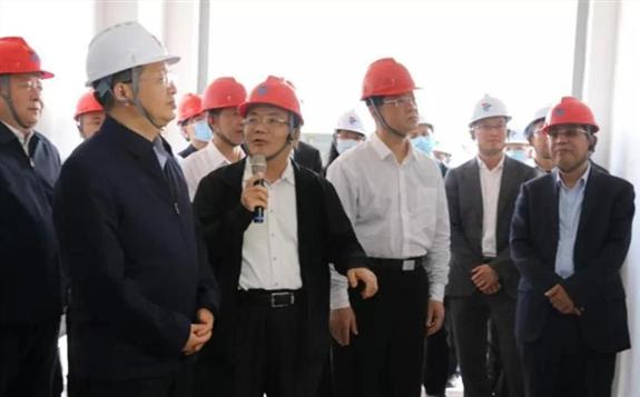国家能源局局长章建华到晋江储能电站调研