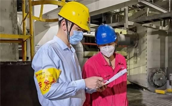 福建鴻山發電公司開展人人做一天安全員活動