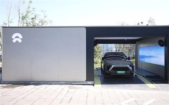 蔚来在乌鲁木齐建造首座充换电一体站