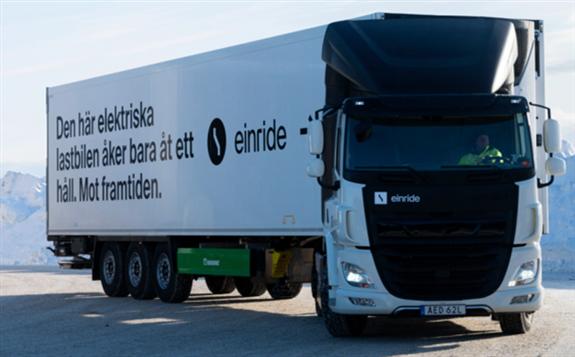 两大重型卡车巨头戴姆勒和沃尔沃大手笔押注氢燃料车