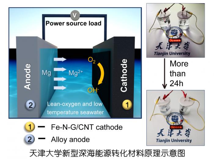 """天津大学成功研发出节能、稳定的""""海水电池"""""""