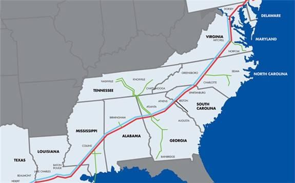 美国殖民管道运输公司重启运行 完全恢复燃油供应仍需数天时间