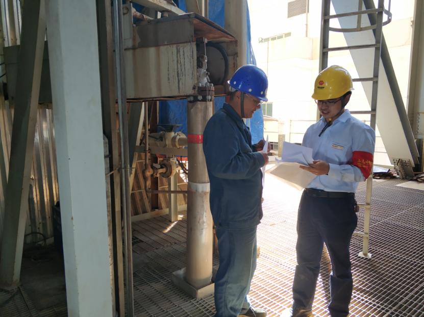 国能(泉州)热电有限公司热控专业全面推动2号机组A级检修标准化验收管理