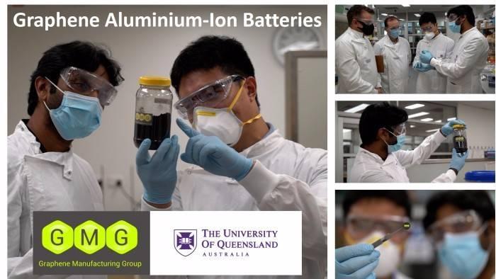 充电速度比同类锂离子电池快十倍的新型铝离子电池