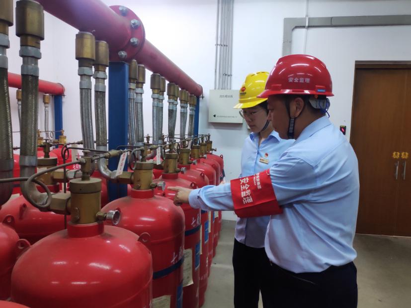 """国能(福州)热电有限公司开展消防检查迎""""高烤"""""""