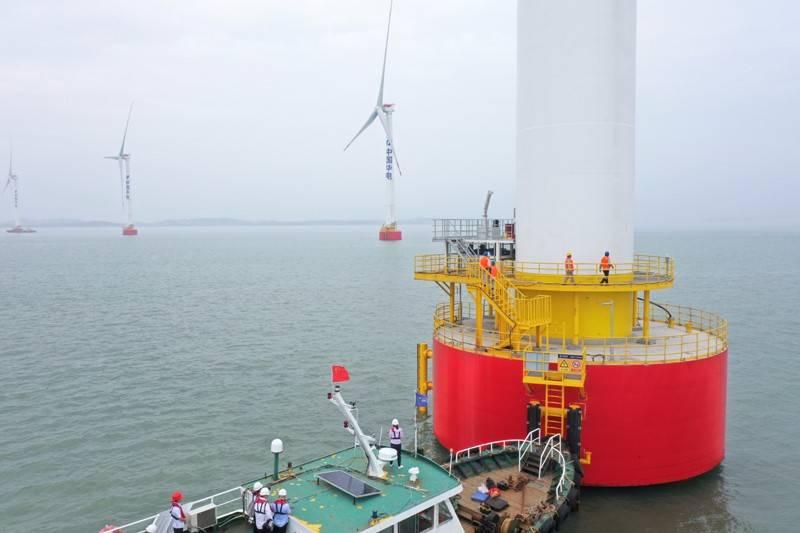 我国首台海上风电主控系统国产化风机成功投运