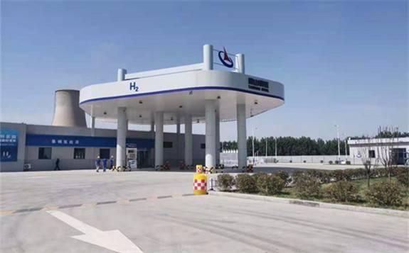 """助力""""中国氢谷""""!山东省内首个加氢母站建成投产"""