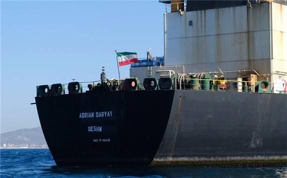 美国扣押伊朗油轮,然后卖掉船上价值1.1亿美元石油