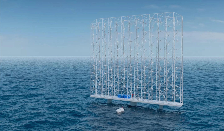 挪威WCS推出漂浮风力涡轮机阵列 年产能为全球最大单涡轮机的5倍