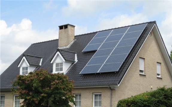 新能源板块预期向好 光伏屋顶指数涨超2%