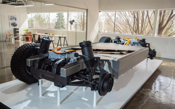 通用汽車的Ultium電池和燃料電池技術將為火車提供動力
