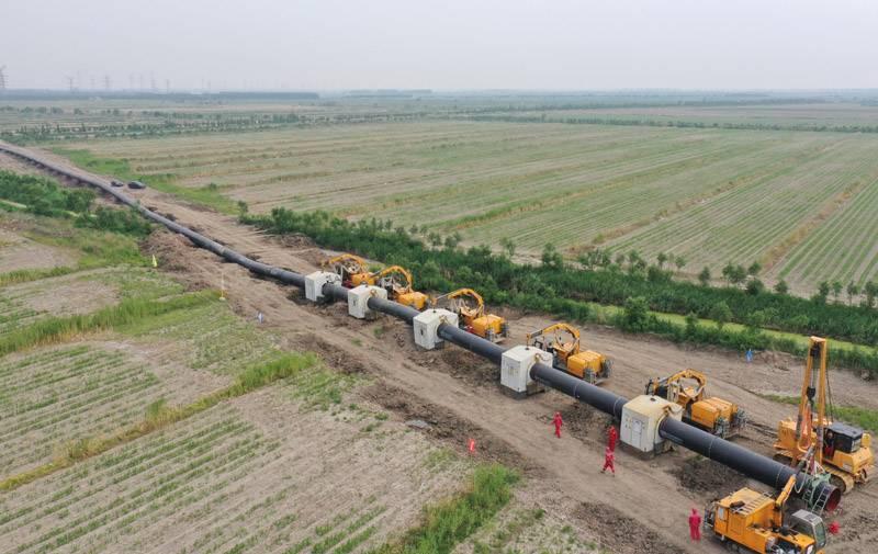 河北曹妃甸新天LNG接收站外輸管線項目穩步推進