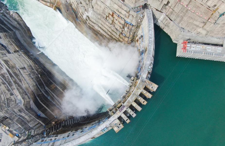 習近平致金沙江白鶴灘水電站首批機組投產發電的賀信