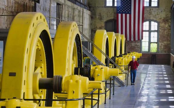 美国一家拥有124年历史的水电站正在利用其电力开采比特币