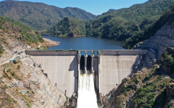 中國電建承建的贊比亞下凱富峽水電站舉行并網發電儀式
