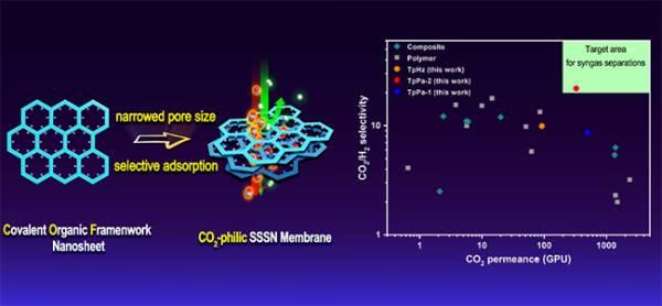 大連化物所制備出高性能超薄二氧化碳分離膜