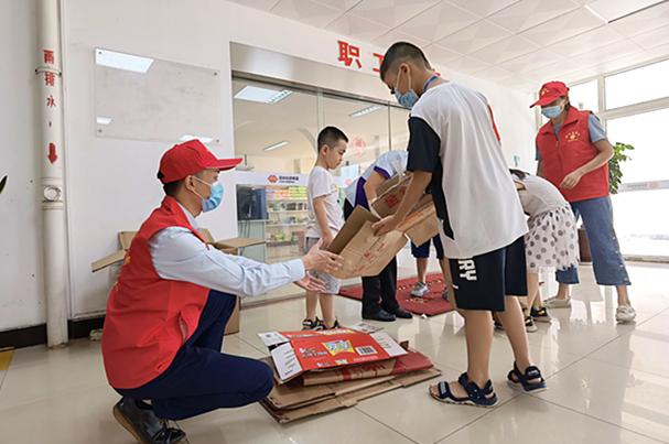 國能(泉州)熱電有限公司志愿活動助力文明城市創建