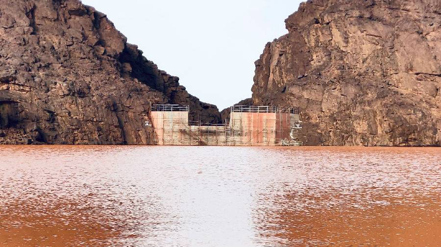 中国电建承建毛里塔尼亚祖埃拉特水坝项目正式完工