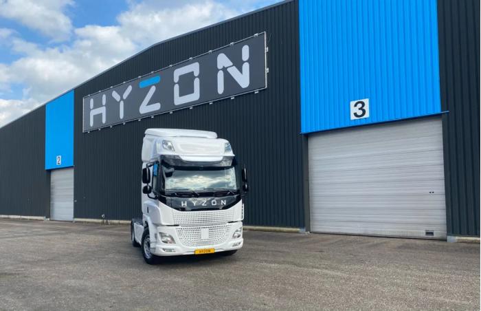 Hyzon Motors开始向客户交付氢燃料电池卡车