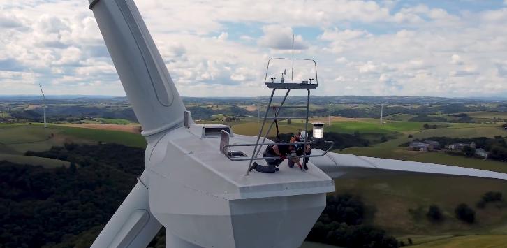 从风电场到风车磨坊——中广核举办法国风电场云开放日活动