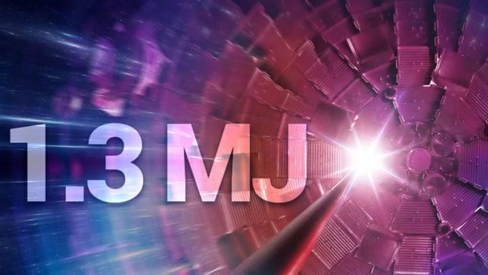 研究人员成功制造出10万亿瓦特的核聚变能量爆发