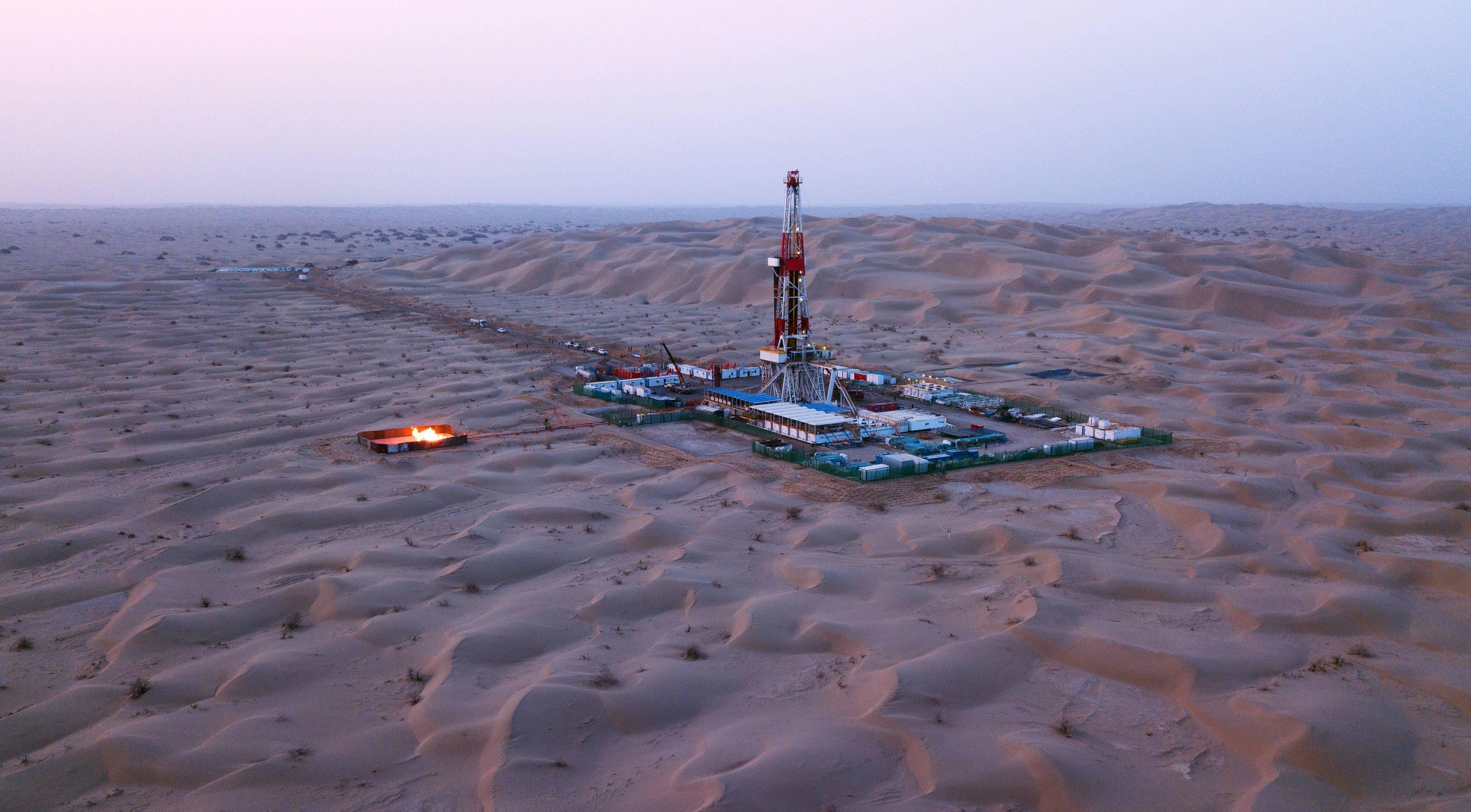 """中国石油援疆""""一号工程""""累计供气超百亿方"""