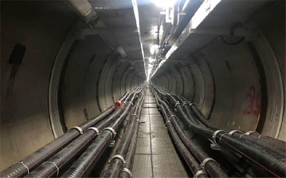 中国电建承建的华中首条穿湖电力隧道贯通